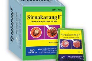 Thuốc chữa sỏi thận Sirnakarang F - Tán sỏi thận sỏi mật hiệu quả