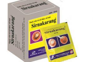 Thông báo ngừng sản xuất sản phẩm Sirnakarang
