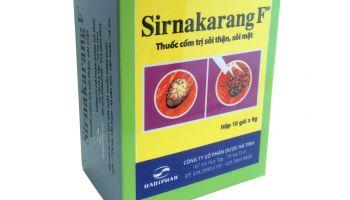 Sirnakarang F thế hệ mới  - Niềm vui cho bệnh nhân sỏi thận tiết niệu